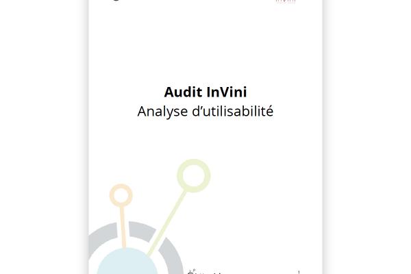 Audit UX pour la société Invini