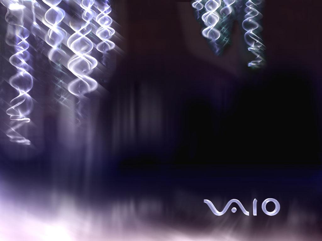 Papier-peint : Sony VAIO waves 1024x768